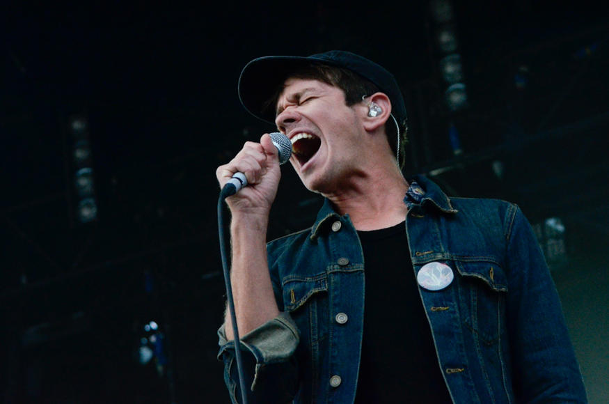 Nate Ruess at Landmark Music Festival