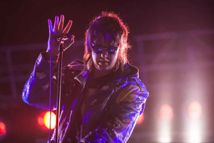 The Strokes at Landmark Music Festival