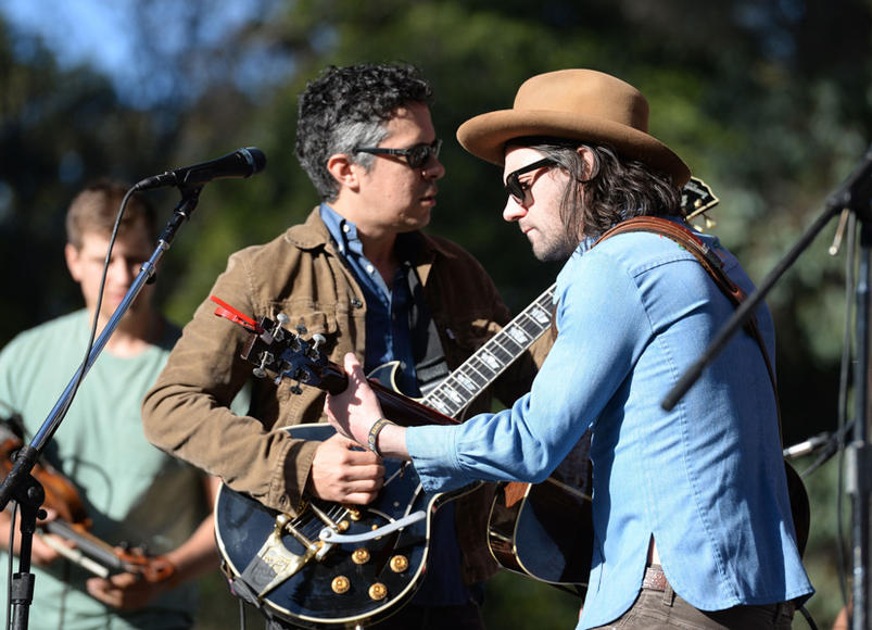 Conor Oberst and M. Ward at Hardly Strictly Bluegrass