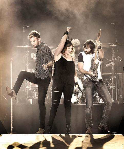 Lady Antebellum at Route 91 Harvest Festival