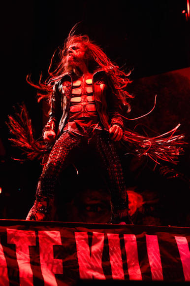 Rob Zombie at Louder Than Life Festival