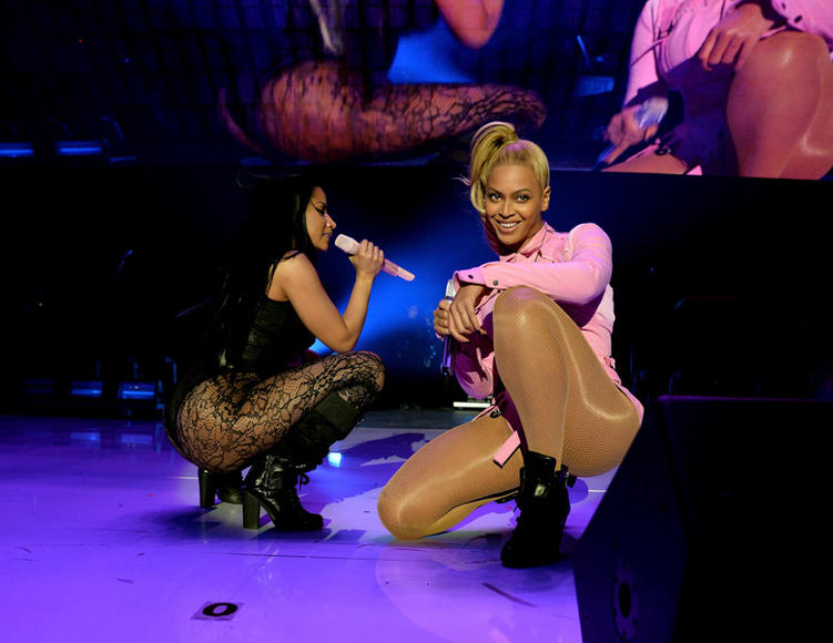 Nicki Minaj and Beyoncé