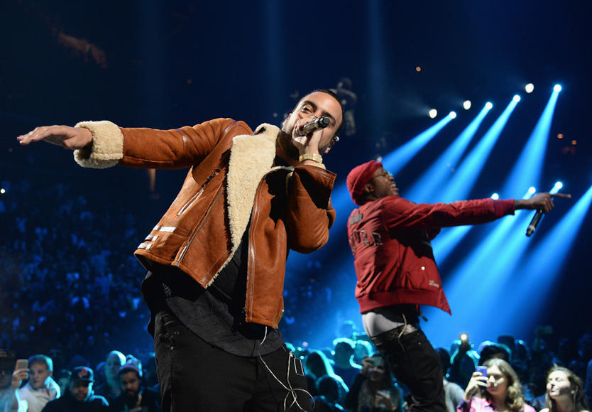 French Montana and Meek Mill