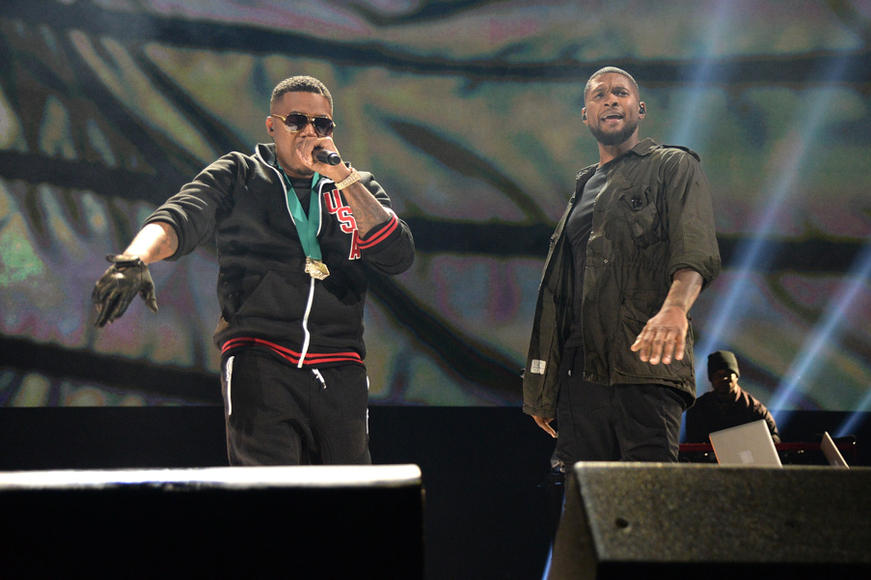 Nas and Usher