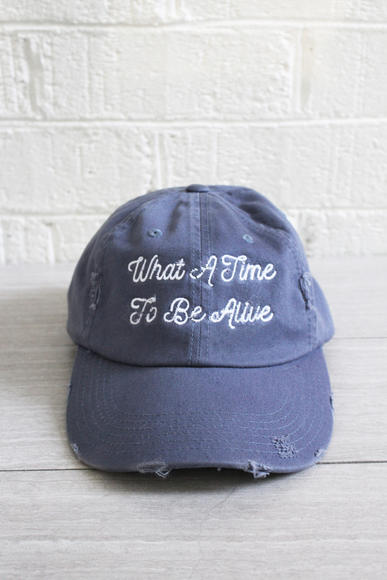 "Jawbreaking ""What a Time to Be Alive"" hat"