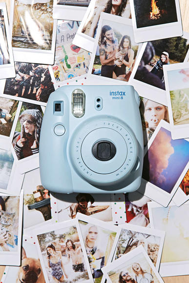 Ed Sheeran-inspired camera: 'Cause you can snap pics and keep them in the pocket of your ripped jeans!