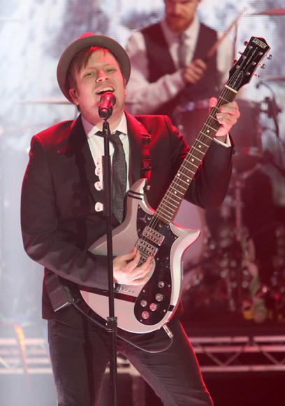 Fall Out Boy at Dick Clark's New Year's Rockin' Eve 2016