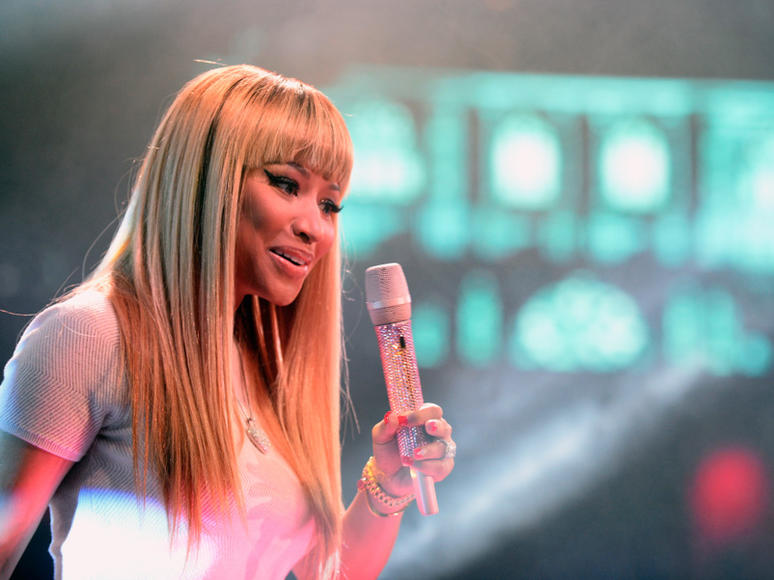 Nicki Minaj at Drai's LIVE New Year's Eve