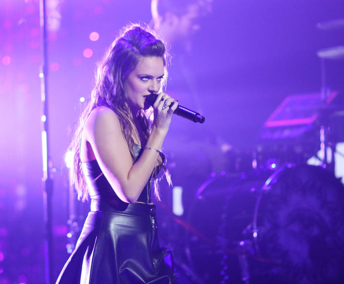 Tove Lo at Dick Clark's New Year's Rockin' Eve 2016