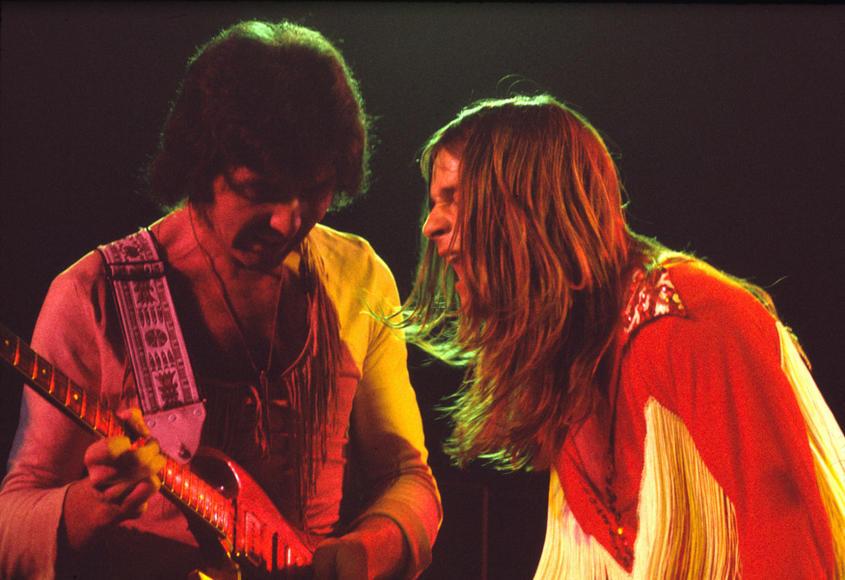 1974 - Tony Iommi, Ozzy Osbourne