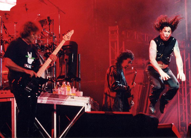2001 - Geezer Butler, Tony Iommi, Ozzy Osbourne