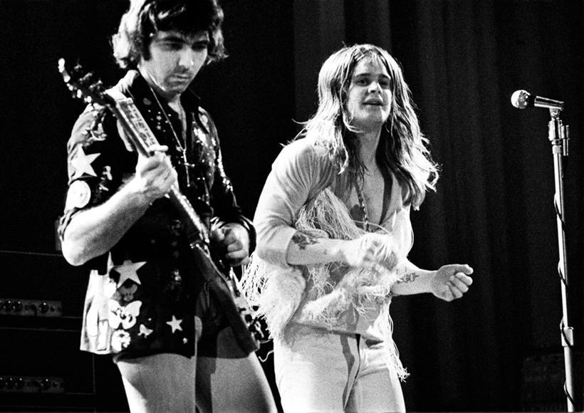 1973 - Tony Iommi, Ozzy Osbourne