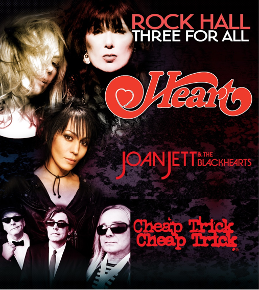 Heart, Joan Jett & The Blackhearts, Cheap Trick: Do you really need convincing when THREE Hall of Famers are on ONE bill? No, you do not. Just go.