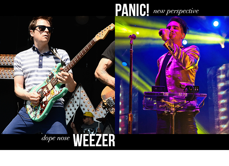 Weezer - Dope Nose / Panic! at the Disco - New Perspective