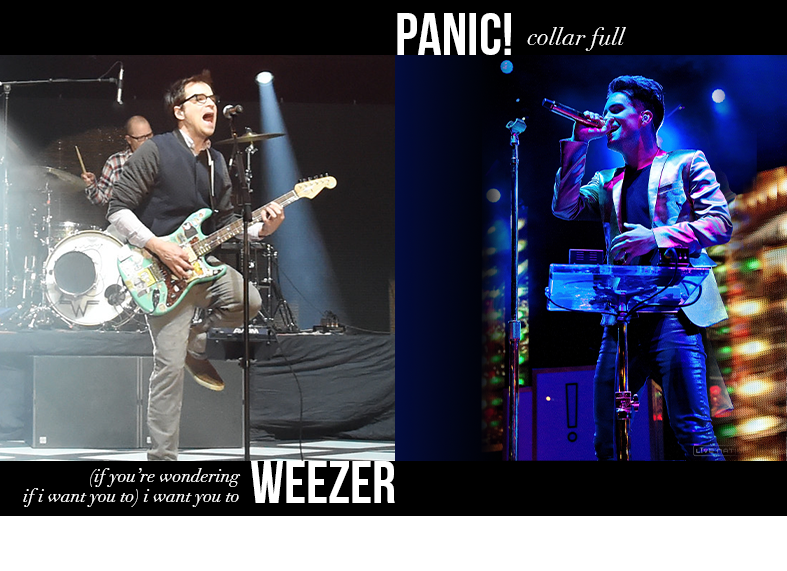 Weezer - I Want You To / Panic! at the Disco - Collar Full