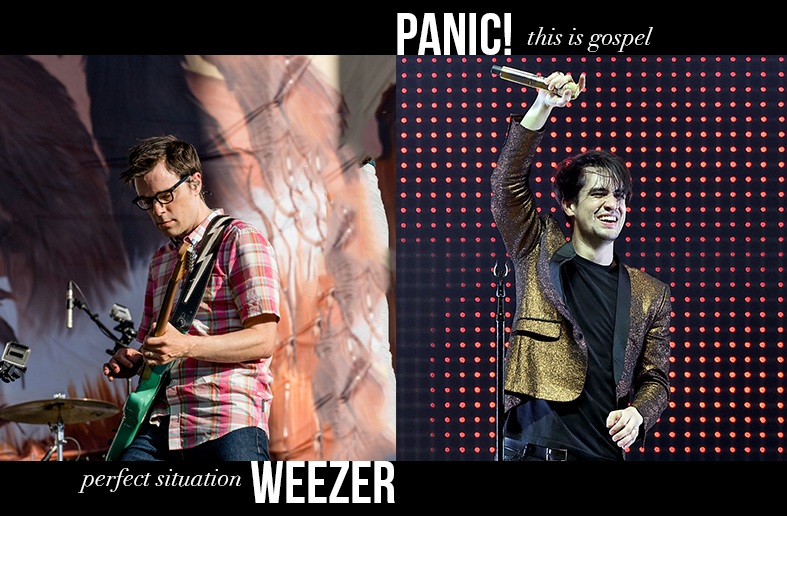 Weezer - Perfect Situation / Panic! at the Disco - This Is Gospel