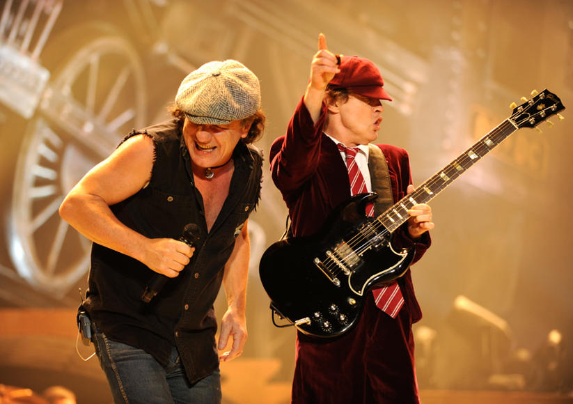 Malcolm Young and Angus Young, 2008