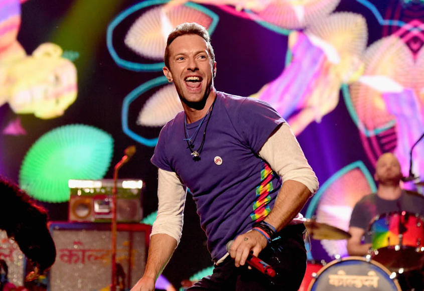 Coldplay: They've got 'A Head Full of Dreams' and you've got a heart filled with EMOTIONS. What a perfect pair for a cathartic, kaleidoscopic sing-along!