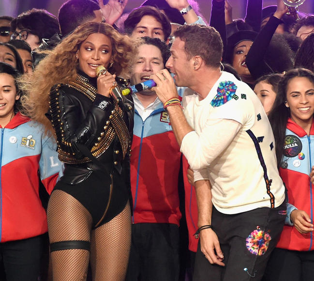 Beyoncé, Coldplay