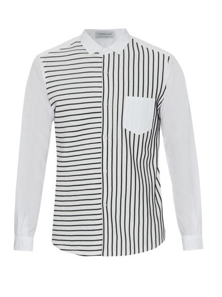 GHOST TOWN: Tomorrowland striped cotton shirt