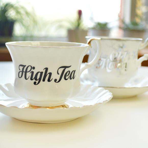 Fair Goods Custom Type Teacup