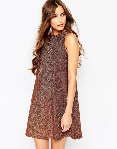 River Island Sparkle Swing Dress