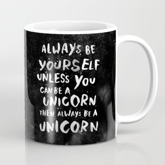WEAREYAWN Always Be A Unicorn Mug