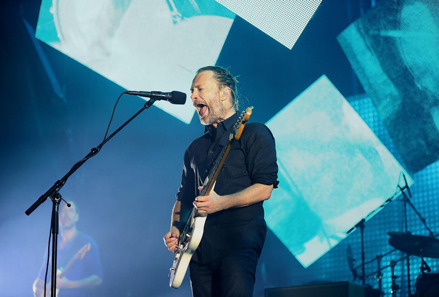 Radiohead: They've been MIA since 2012, but Radiohead is creeping back into our musical lives. The rock icons only have a FEW dates on their 2016 tour, so don't miss out!