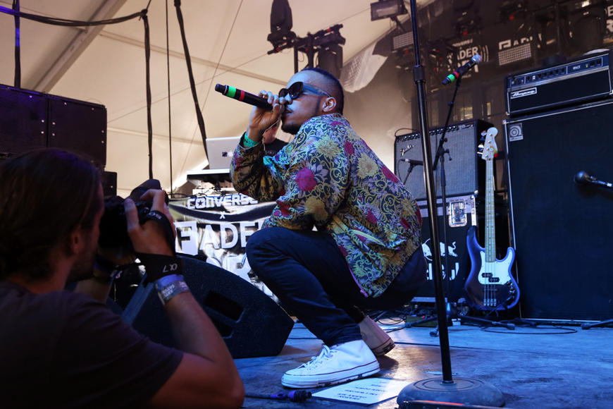 "Paak was awarded The Grulke Prize for Developing US Act at SXSW 2016 for ""breaking new ground with creativity."""