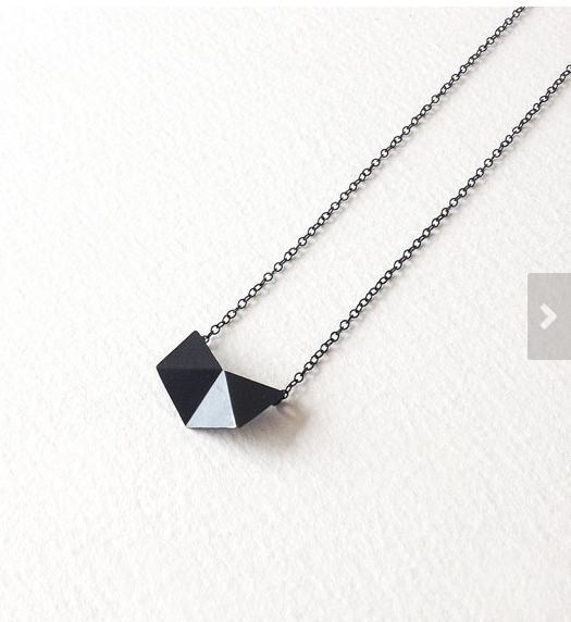 Geometric Chain Necklace