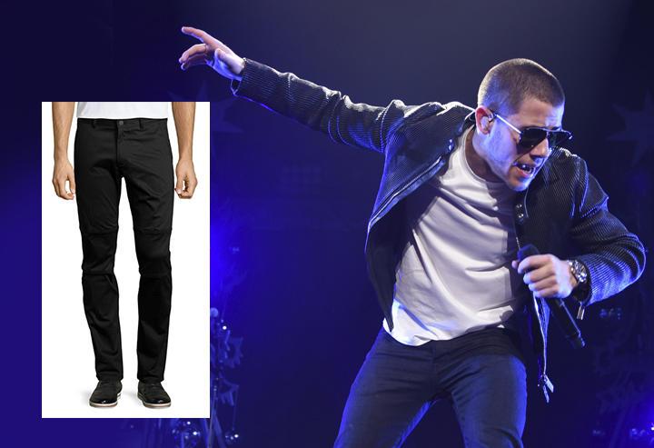 Theory Bikor Revore Slim-Stretch Biker Pants