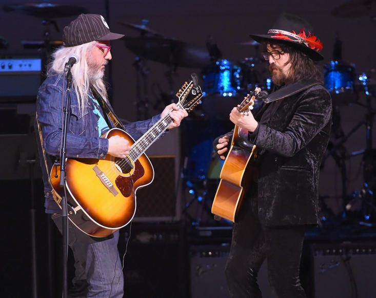 J. Mascis and Sean Lennon