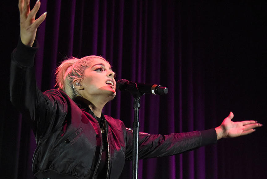 Bebe made her mainstream debut as lead vocalist for Pete Wentz's band Black Cards in 2010, a project born during Fall Out Boy's hiatus