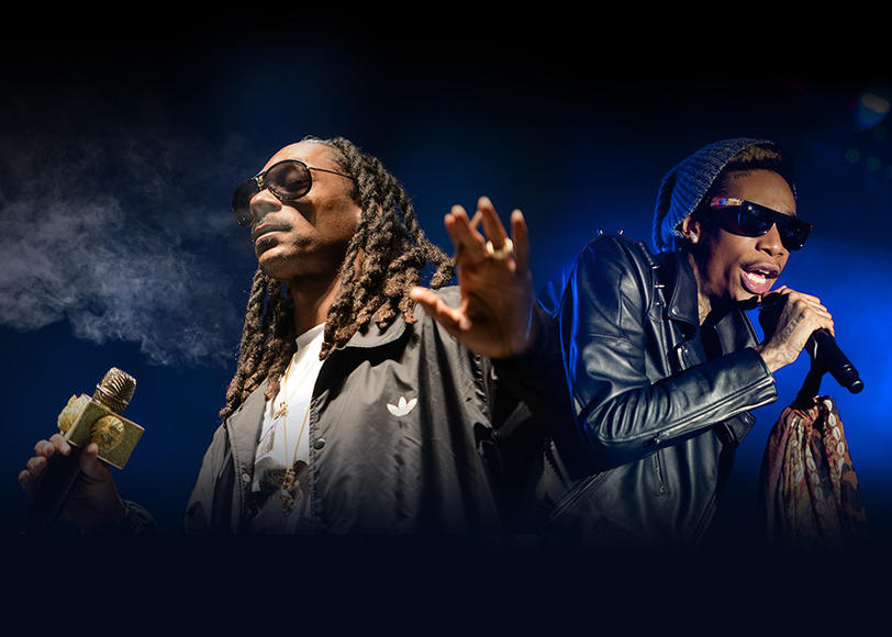 "Snoop Dogg and Wiz Khalifa: Ready to live ""Young, Wild and Free""? Hit The High Road this summer with Snoop, Wiz, Casey Veggies, Jhené Aiko and Kevin Gates!"