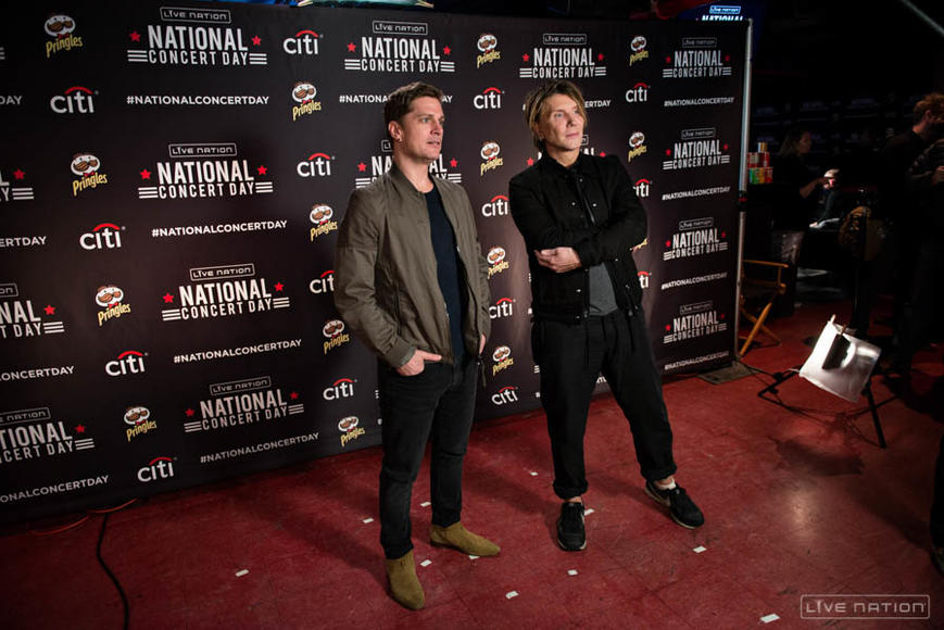 Rob Thomas and John Rzeznik of Goo Goo Dolls