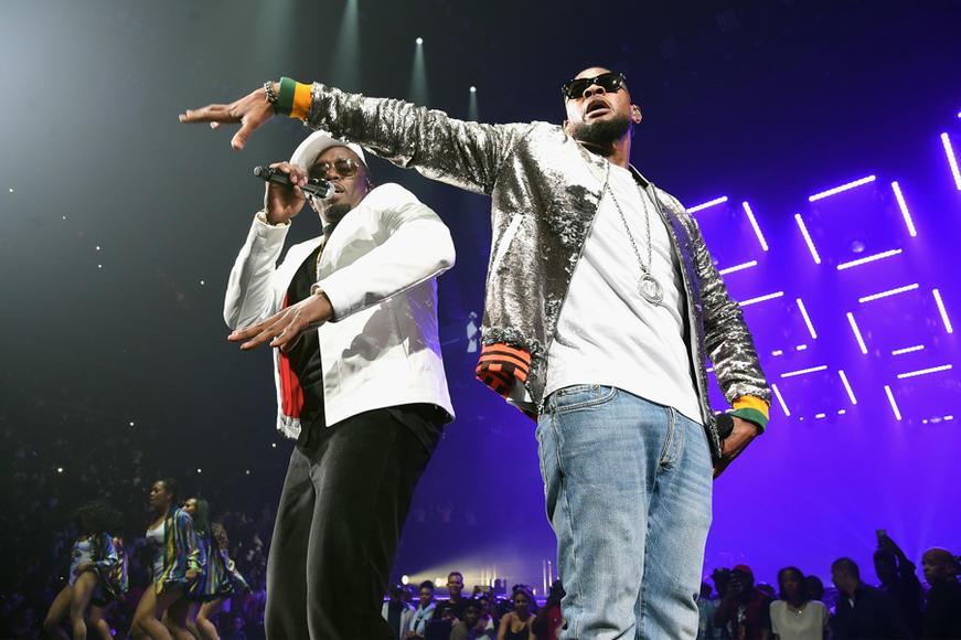Puff Daddy, Usher