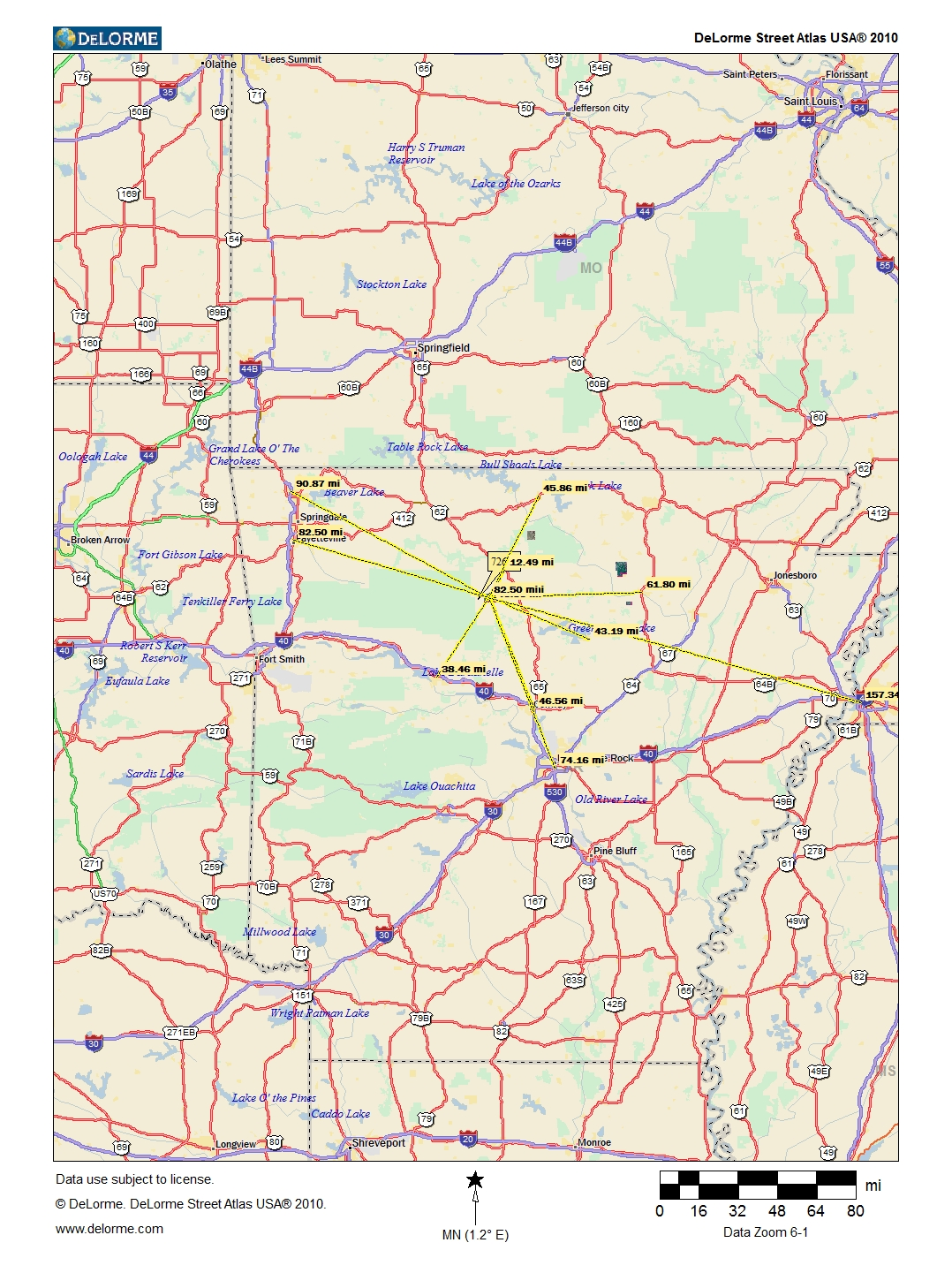 Acres In Searcy County Arkansas - Map of georgia fayetteville