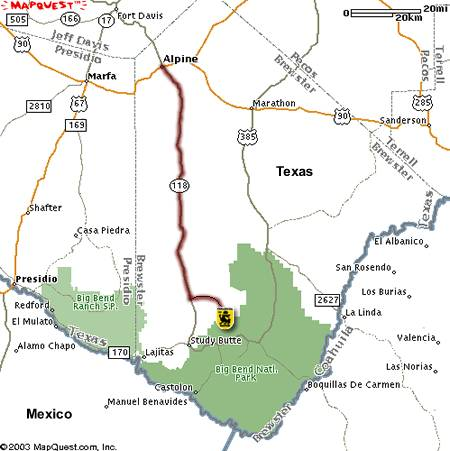 40 acres in brewster county texas