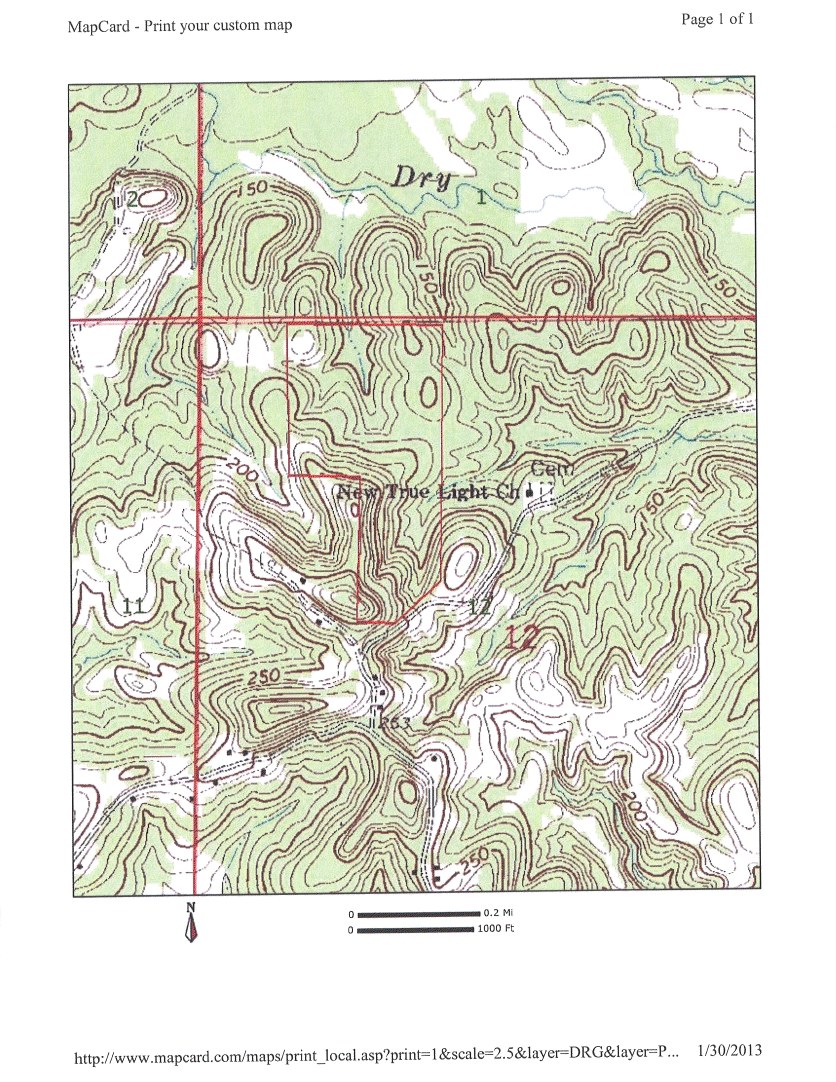 Alabama washington county wagarville - Lankford 60 Topo Png