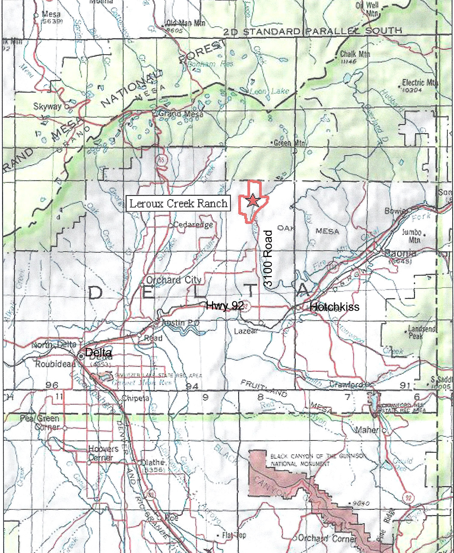 delta county History delta county was created by the colorado legislature on february 11, 1883, out of portions of central gunnison countythe county was named from a delta of arable land at the mouth of the uncompahgre river, where it flows into the gunnison river.