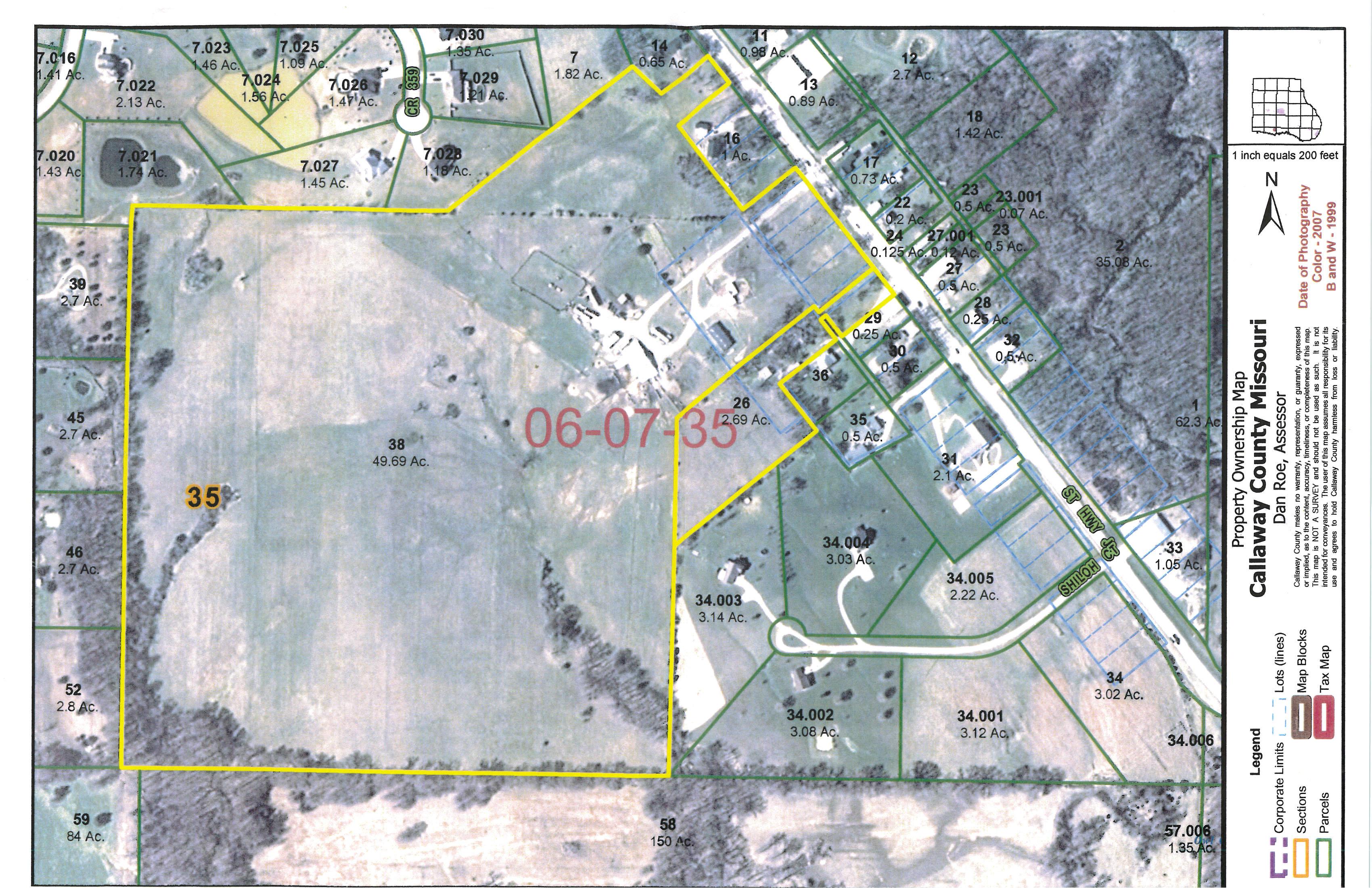 51.87 Acres in Callaway County, Missouri
