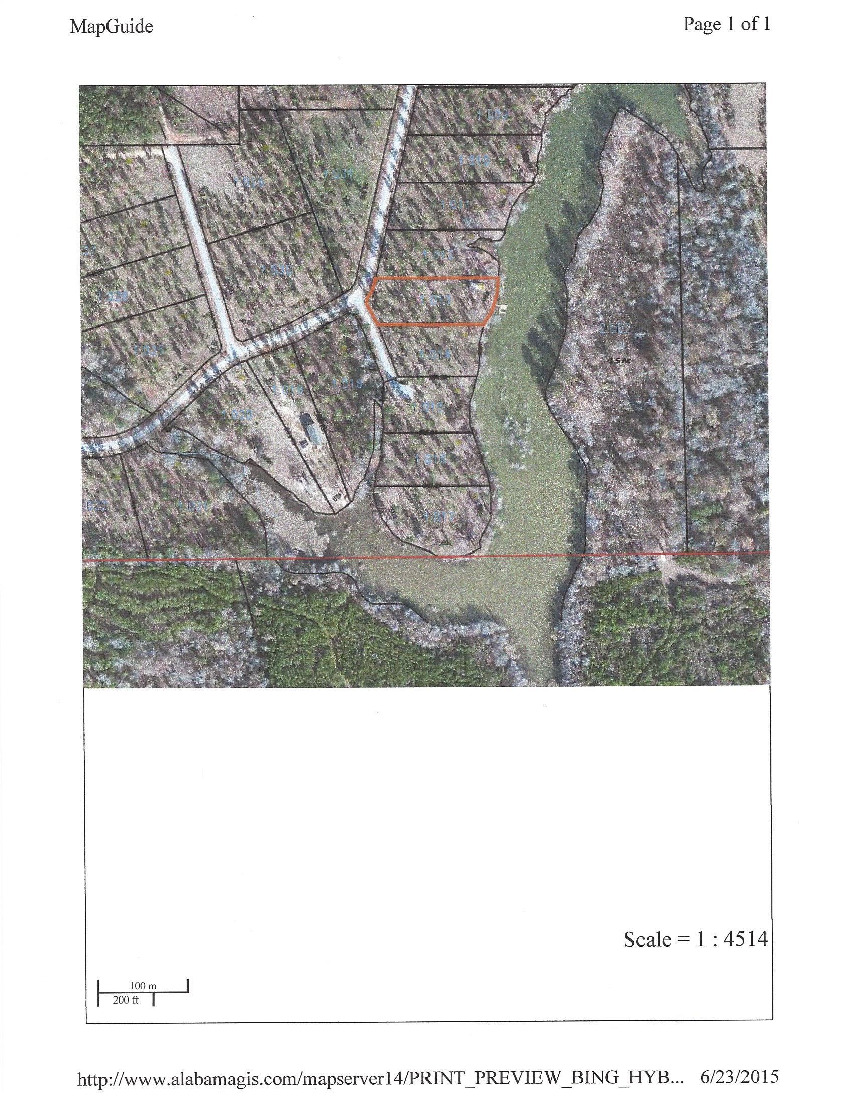 Alabama wilcox county catherine - The Cove Aerial Plat Jpg