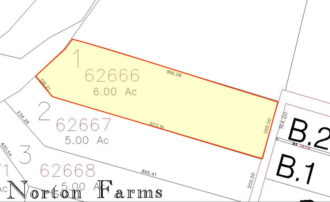6 0 acres peach creek for Wharton cad