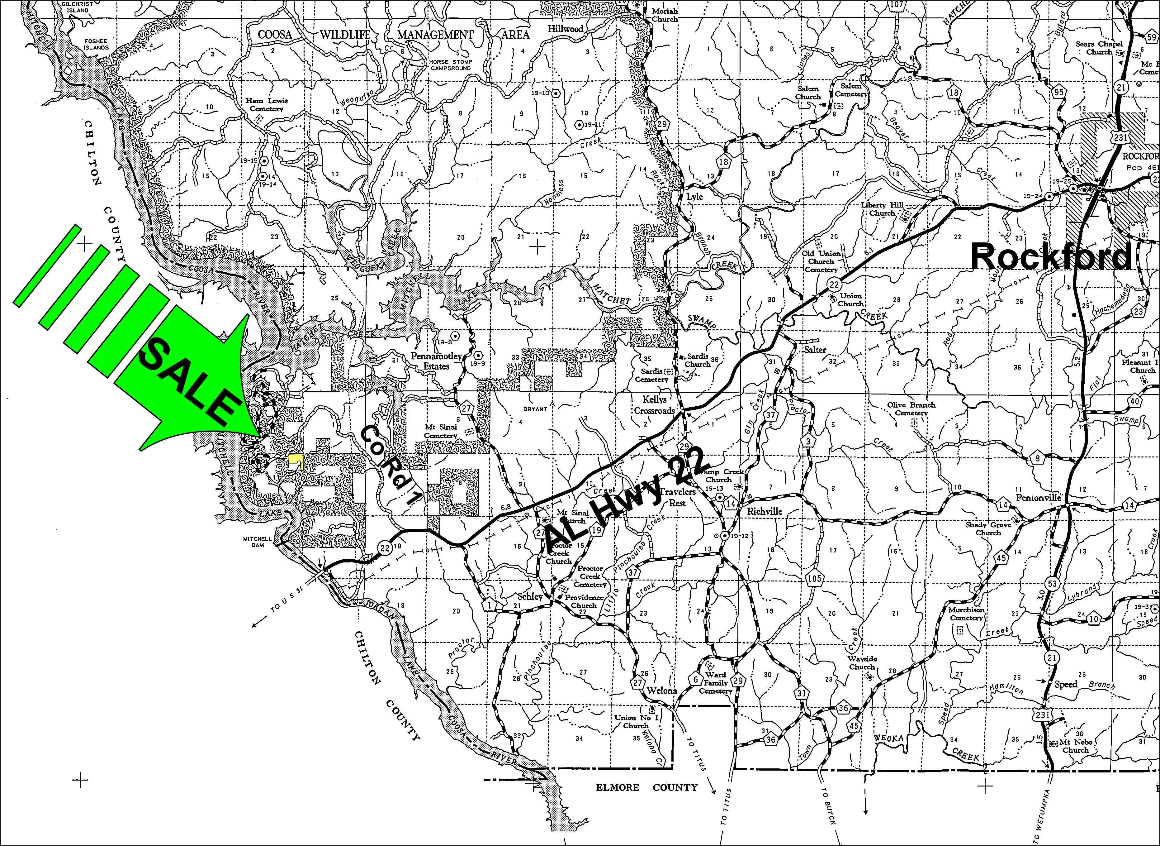 Development Potential Near Mitchell Lake