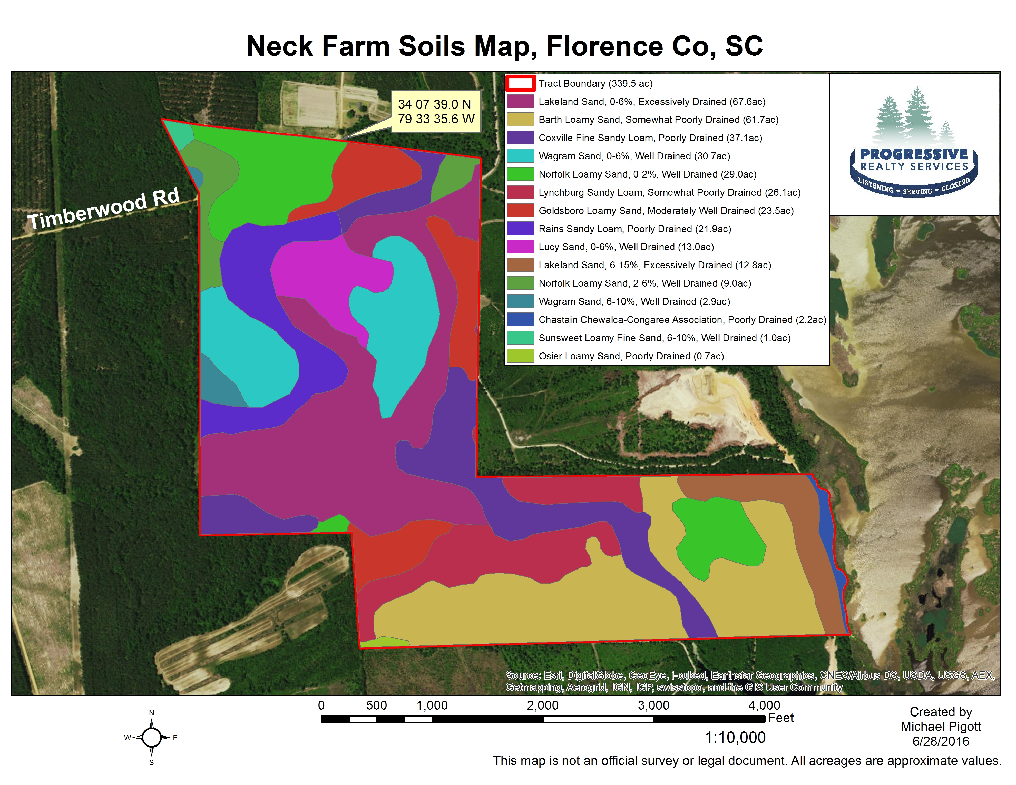 Sealed bid land sale for South carolina soil