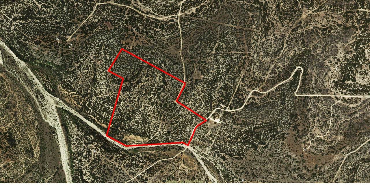 aerial.jpg - 68 acres of Hunting Land / Recreational Land / Pasture/Ranch for sale. Rocksprings, TX