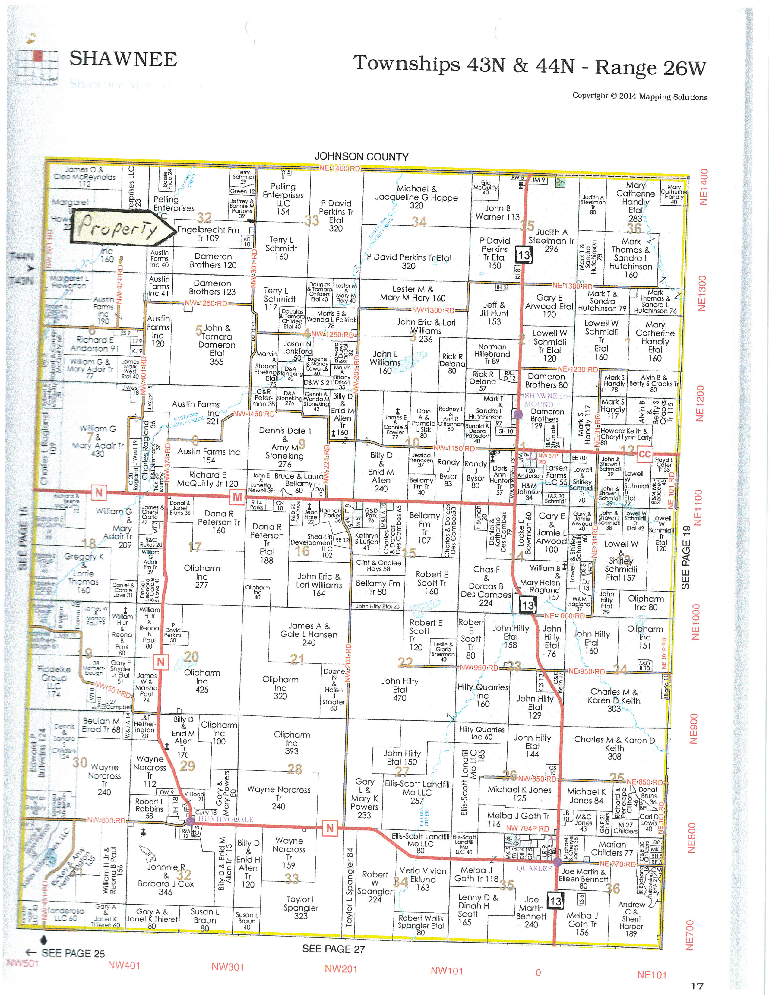 plat.jpg - 109 acres of Farm for sale. NW 301 Rd, Chilhowee, MO