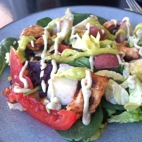 BBQ Chicken Salad Image
