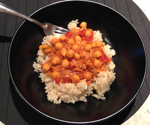Chole (Chana) Masala Recipe Image