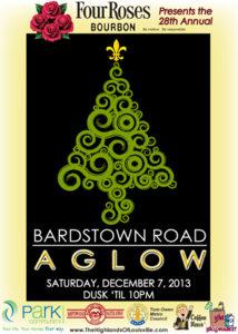 Bardstown road aglow